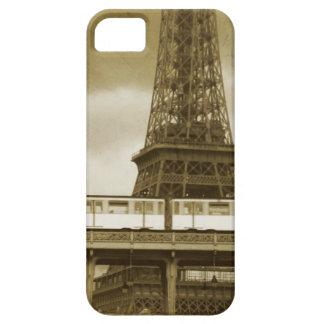 Capas de iphone do vintage da torre Eiffel Capa Barely There Para iPhone 5