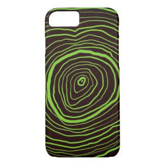 Capas de iphone dos anéis de árvore de Brown