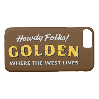Capas de iphone douradas de Colorado