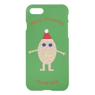 Capas de iphone engraçadas do ovo do Natal