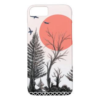 capas de iphone escuras da floresta