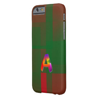 Capas de iphone esverdeados do estilo do monograma