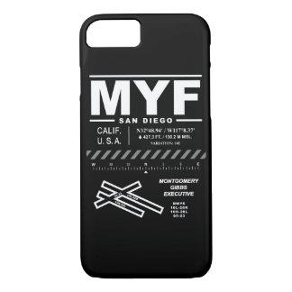 Capas de iphone executivas do aeroporto MYF de