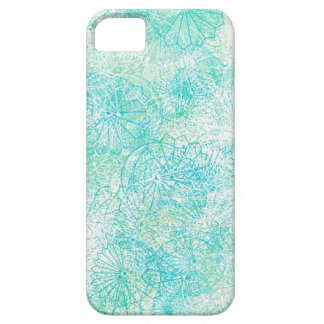 Capas de iphone florais azuis exóticas capa para iPhone 5
