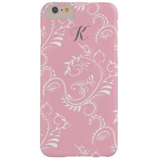 Capas de iphone florais brancas cor-de-rosa do