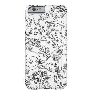 Capas de iphone florais capa barely there para iPhone 6