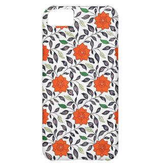 Capas de iphone florais chinesas do teste padrão capa para iPhone 5C