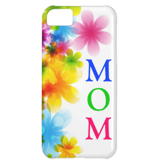 Capas de iphone florais da mãe capa para iPhone 5C