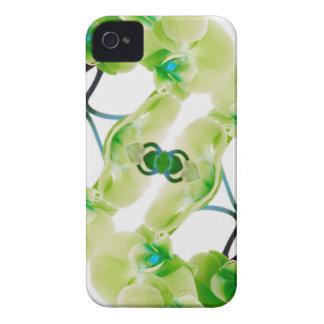 Capas de iphone florais do abstrato verde da