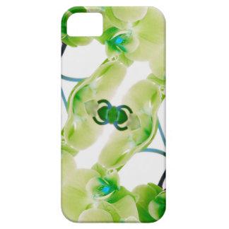 Capas de iphone florais do abstrato verde da capa barely there para iPhone 5