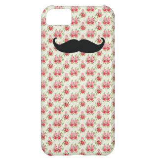 Capas de iphone florais do bigode