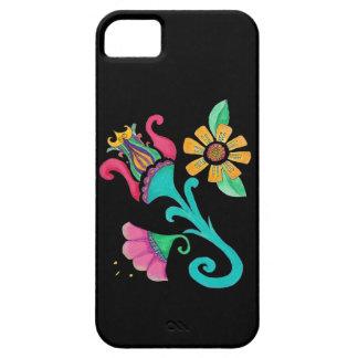 Capas de iphone florais do bordado do vintage capas para iPhone 5