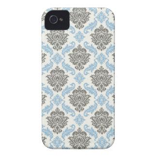 Capas de iphone florais do damasco capas para iPhone 4 Case-Mate