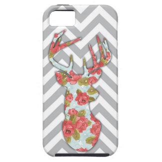 Capas de iphone florais do fanfarrão capa para iPhone 5