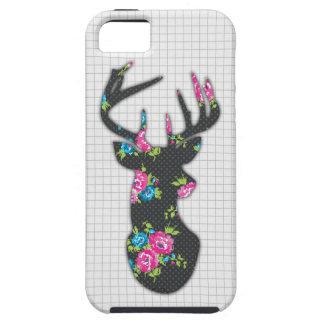 Capas de iphone florais do fanfarrão capas para iPhone 5