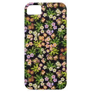 Capas de iphone florais do Hellebore do rosa Capa Barely There Para iPhone 5