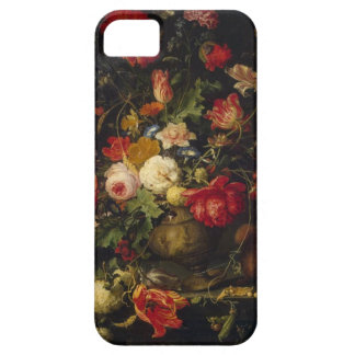 Capas de iphone florais do vaso do vintage