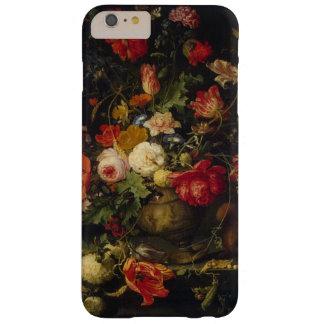 Capas de iphone florais do vaso do vintage capa barely there para iPhone 6 plus