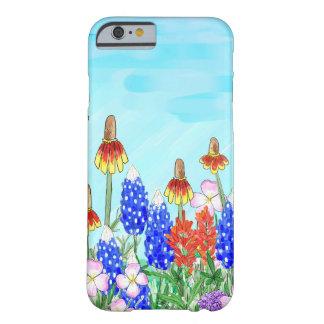 Capas de iphone florais do wildflower do capa barely there para iPhone 6