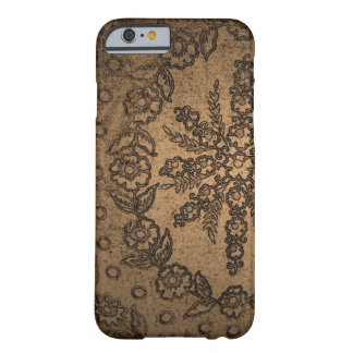 Capas de iphone florais douradas