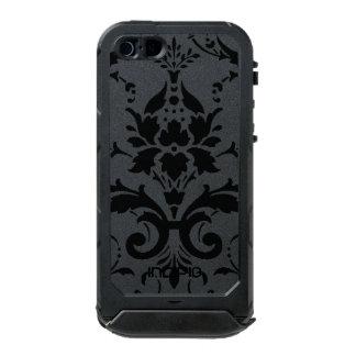 Capas de iphone florais pretas do damasco capa incipio ATLAS ID™ para iPhone 5