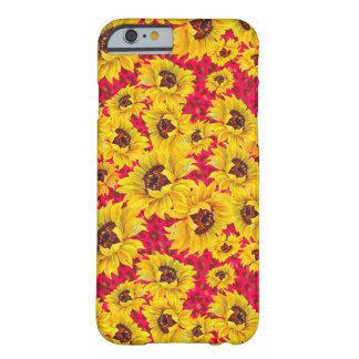 capas de iphone florais vermelhas do leopardo e do capa barely there para iPhone 6
