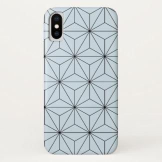 Capas de iphone geométricas azuis