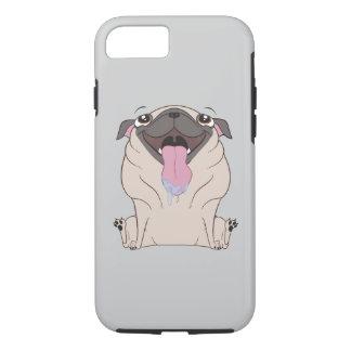 Capas de iphone gordas do cão do Pug dos desenhos
