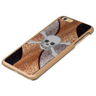 Capa Incipio Feather® Shine Para iPhone 6 Plus Capas de iphone legal do luxo de Incipio do crânio