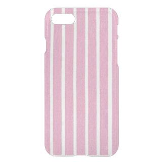 Capas de iphone listradas cor-de-rosa do defletor