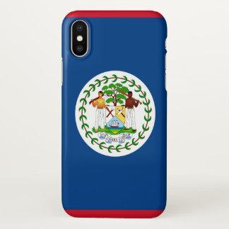 Capas de iphone lustrosas com a bandeira de Belize