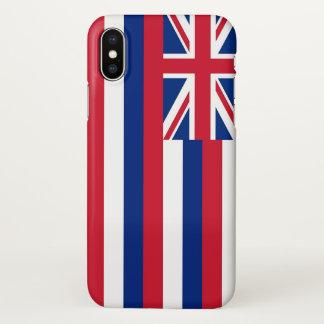 Capas de iphone lustrosas com a bandeira de Havaí,