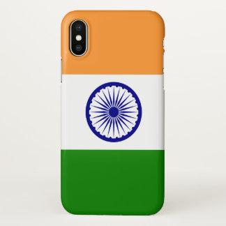 Capas de iphone lustrosas com a bandeira de India