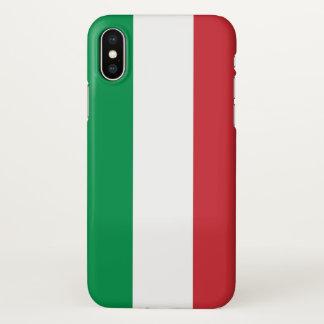Capas de iphone lustrosas com a bandeira de Italia