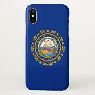 Capas de iphone lustrosas com a bandeira de New