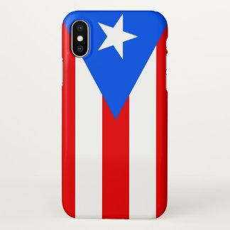 Capas de iphone lustrosas com a bandeira de Puerto
