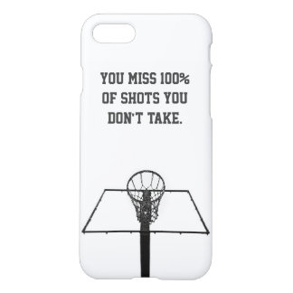 Capas de iphone minimalistas/basquetebol inspirado