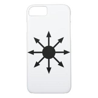 Capas de iphone minimalistas da estrela do caos