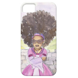 Capas de iphone modernas do Afro de Rapunzel