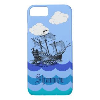 Capas de iphone náuticas customizáveis do navio de