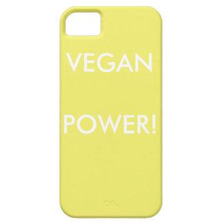 Capas de iphone pastel amarelas para vegans com