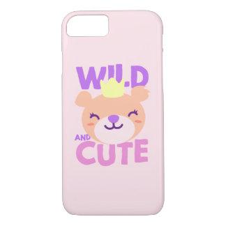 Capas de iphone pequenas bonitos da leoa do rosa