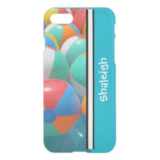 Capas de iphone personalizadas da bola de praia do