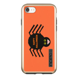 Capas de iphone pretas da aranha do Dia das Bruxas