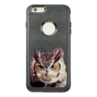 Capas de iphone pretas de Otterbox Apple - coruja