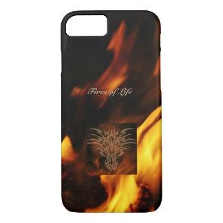 Capas de iphone quentes de fumo do dragão
