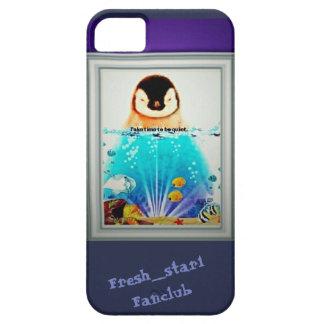 Capas de iphone quietas do pinguim de Fresh_star1