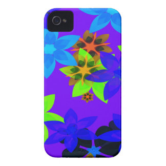 Capas de iphone retros da arte do hippy de flower