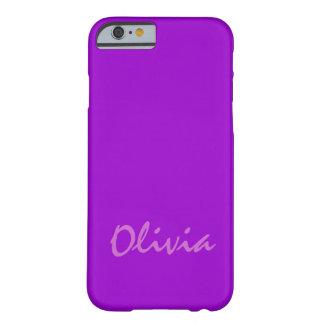Capas de iphone roxas da case mate de Olivia mal