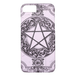 Capas de iphone roxas da case mate do Pentacle mal